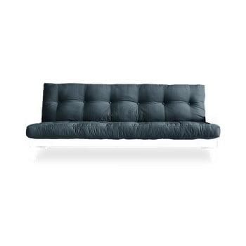 Canapea extensibilă Karup Design Indie White/Petrol Blue, albastru de la Karup Design