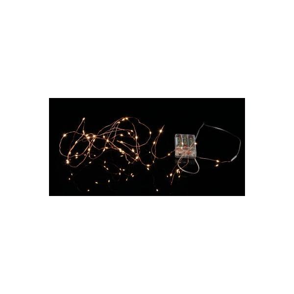 Svítící řetěz Best Season String Copper, 40 světýlek