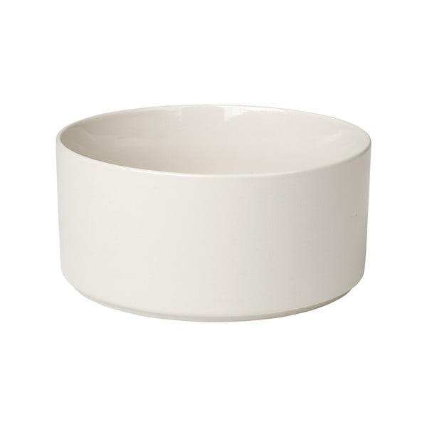 Bílá keramická mísa Blomus Pilar,ø20cm