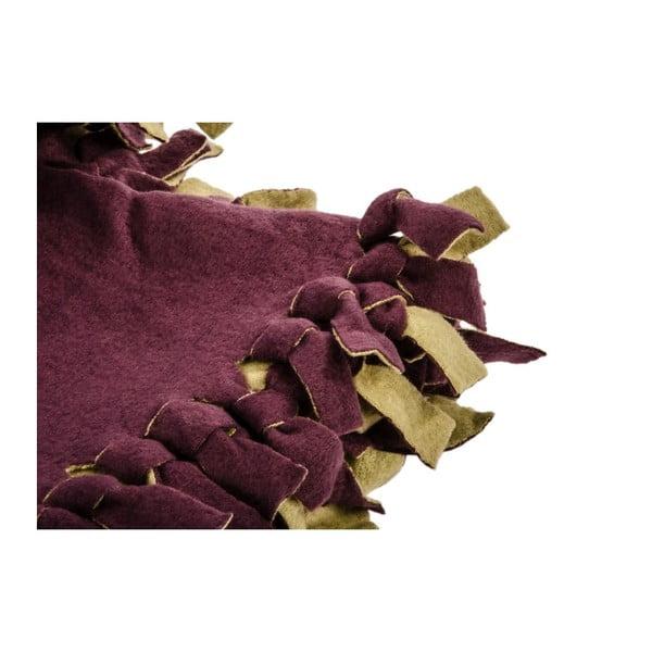 Přehoz na postel Town Double Violet, 220x240 cm