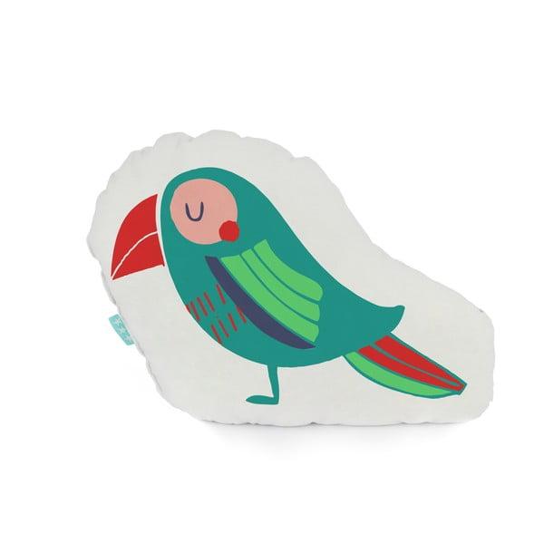 Bavlněný polštářek Moshi Moshi Pretty Parrots, 40x30cm