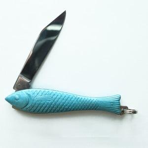 Světle modrý český nožík rybička