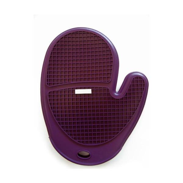 Silikonová chňapka Soft, fialová