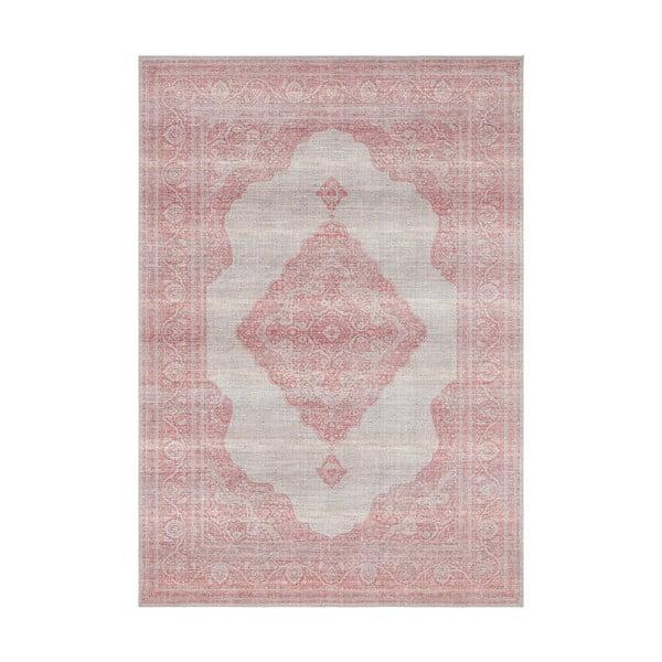 Jasnoczerwony dywan Nouristan Carme, 80x150 cm