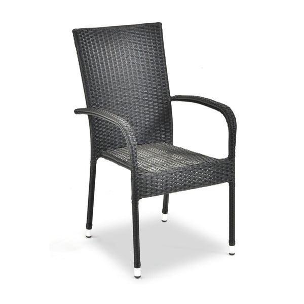 Frenchie antracitszürke kerti szék, magasság 95 cm - Timpana