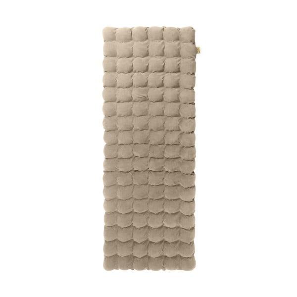 Beżowy relaksacyjny materac Linda Vrňáková Bubbles, 65x200 cm