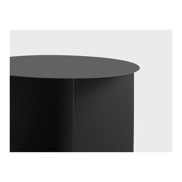 Măsuță de cafea Custom Form Oli, ⌀ 70 cm, negru