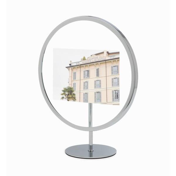 Szara stojąca ramka na zdjęcie o wymiarach 10x15 cm Umbra Infinity