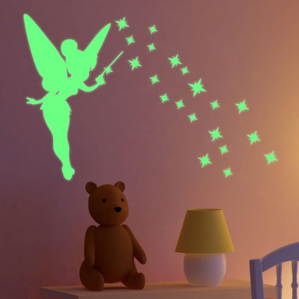 Svítící samolepka Fanastick Fairy With Stars
