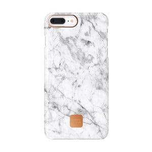 Bílo-šedý ochranný kryt na telefon pro iPhone 7 a 8 Plus Happy Plugs Slim