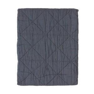 Pătură din bumbac Södahl Triangle, 130 x 170 cm, gri
