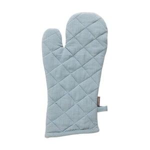 Modrá bavlněná kuchyňská rukavice Ego Dekor, 18 x 33 cm