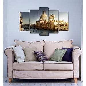 5dílný obraz Benátky