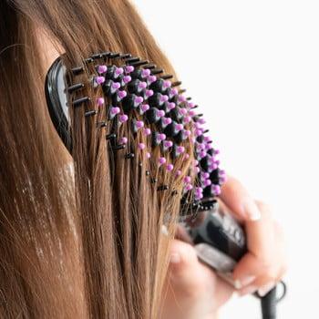 Perie electrică pentru îndreptat părul InnovaGoods Oval poza