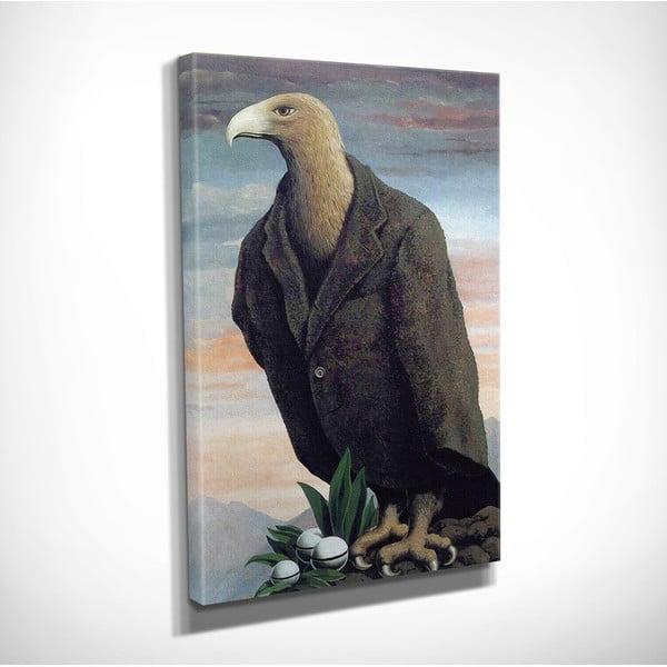 Vászon fali kép Rene Magritte Nest másolat, 30 x 40 cm