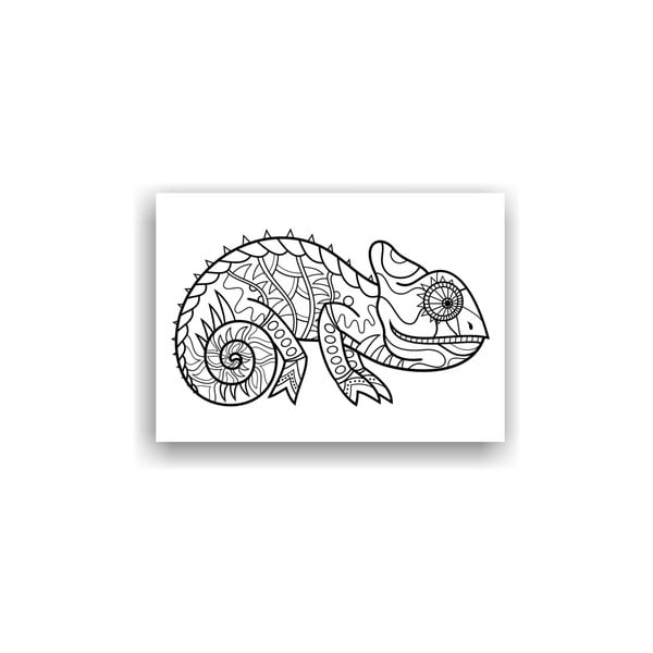 Obraz k vymalování Color It no. 106, 70x50 cm