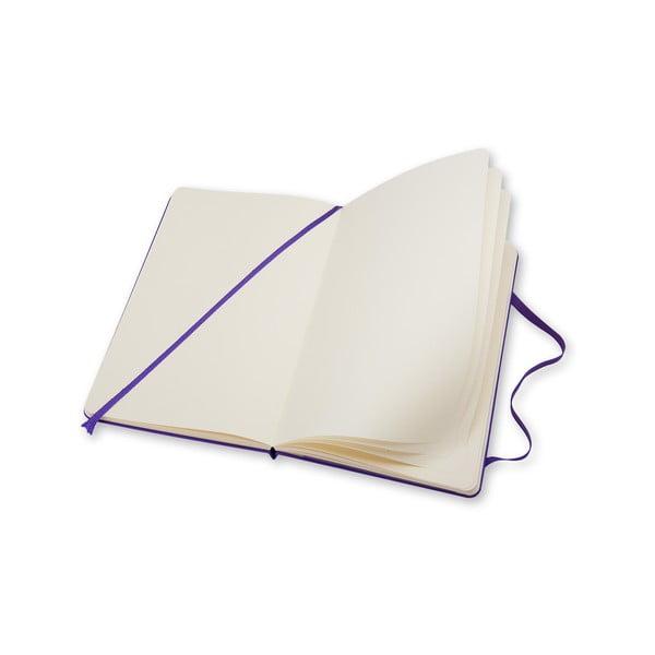 Zápisník Moleskine Violet Hard LG, nelinkovaný
