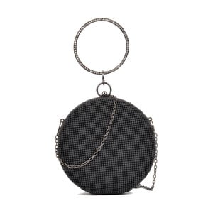Černá kulatá kabelka Sofia Cardoni