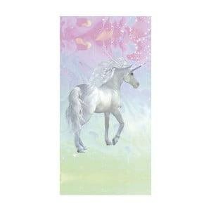 Plážová osuška s potiskem Good Morning Unicorn, 75x150cm