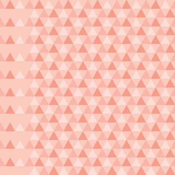 Tapeta Triangles Pink