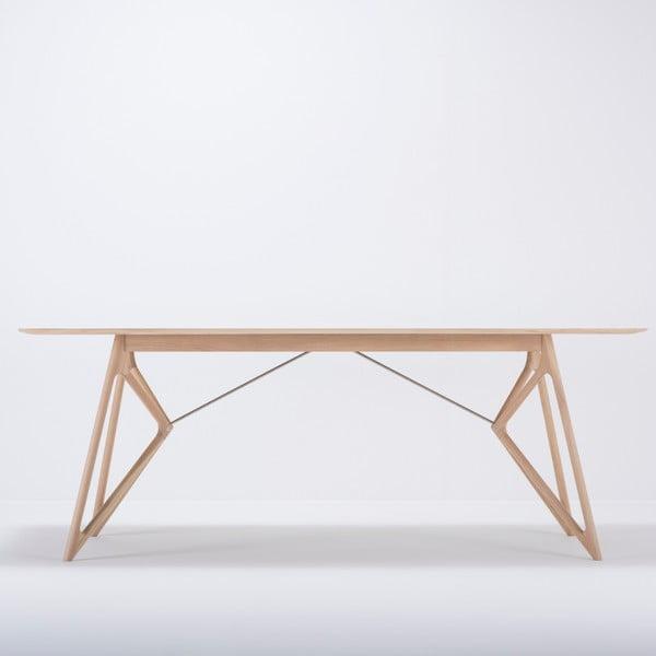 Jídelní stůl z masivního dubového dřeva Gazzda Tink, 200x90cm
