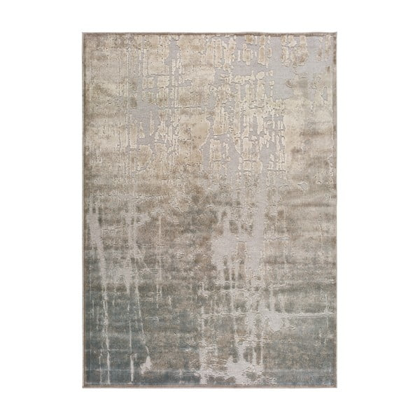 Béžový koberec z viskózy Universal Margot Azul, 160 x 230 cm
