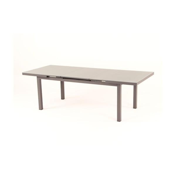 Tmavě šeýd rozkládací zahradní stůl pro 8-10 osob Ezeis Zephyr