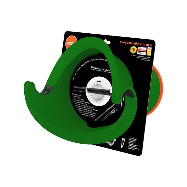 Designový držák na kolo Solo, zelený