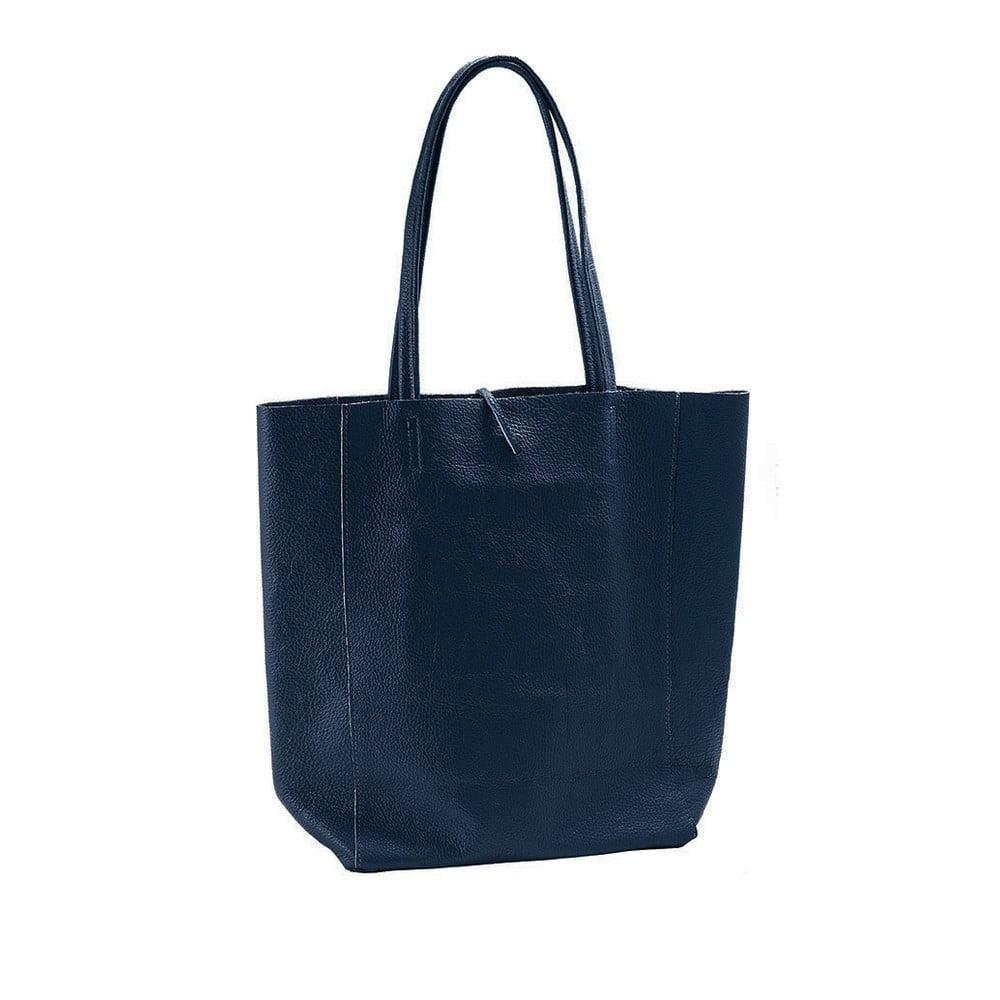 c1707af5bac Námořnicky modrá kabelka z pravé kůže Andrea Cardone Borse Donna
