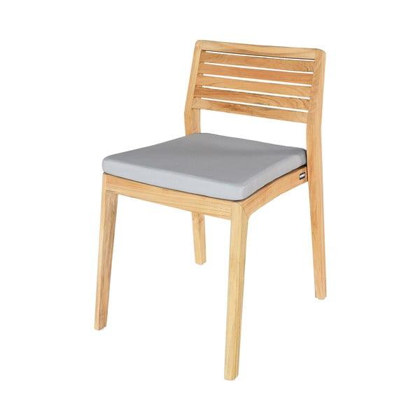 Sada 2 zahradních židlí z teakového dřeva Ezeis Aquariva
