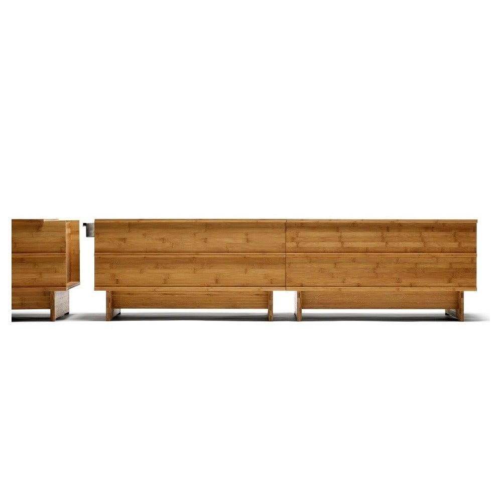 Ocelový spojovací díl k lavici z bambusu Moso We Do Wood Correlations