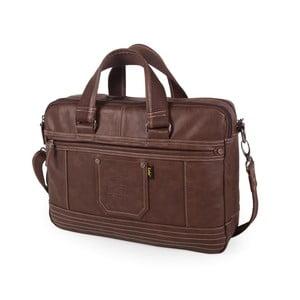 """Pánská taška na notebook 15"""" LOIS no, 740, hnědá"""