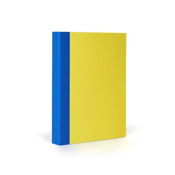 Zápisník FANTASTICPAPER A6 Lemon/Blue, řádkovaný