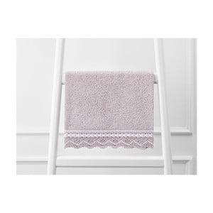Světle fialový ručník Madame Coco, 30 x 46 cm
