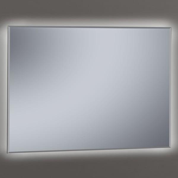 Zrcadlo s LED osvětlením Metro, 80x100 cm