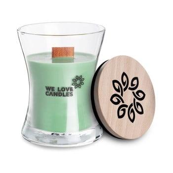 Lumânare din ceară de soia We Love Candles Fresh Grass, durată de ardere 21 ore, verde mentă imagine