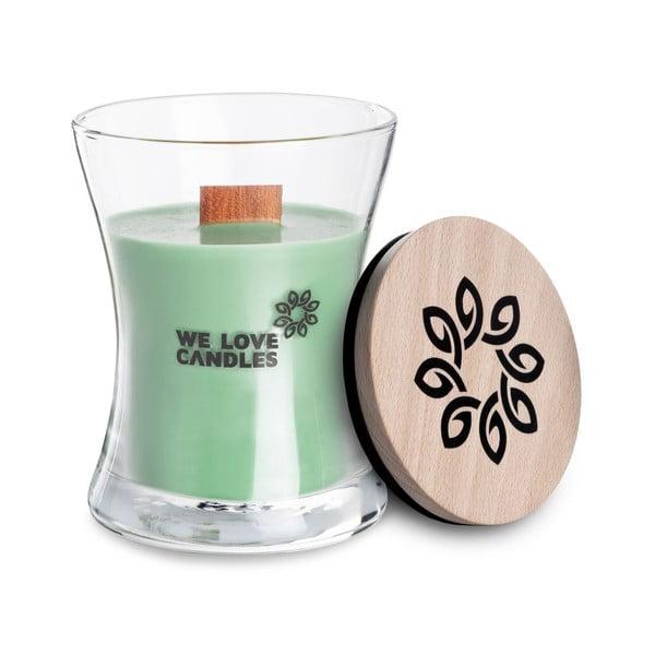 Svíčka ze sójového vosku We Love Candles Fresh Grass, doba hoření 21 hodin
