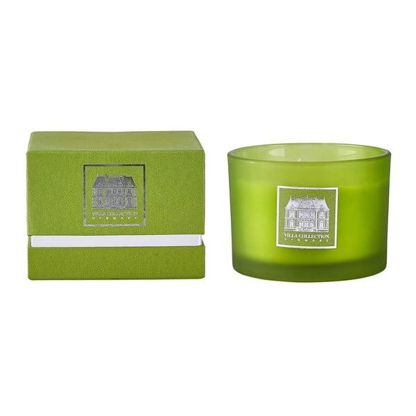 Svíčka s vůní zeleného čaje a okurky Villa Collection, 8 cm