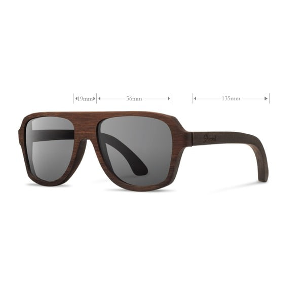 Brýle Ashland Zebrawood/Grey