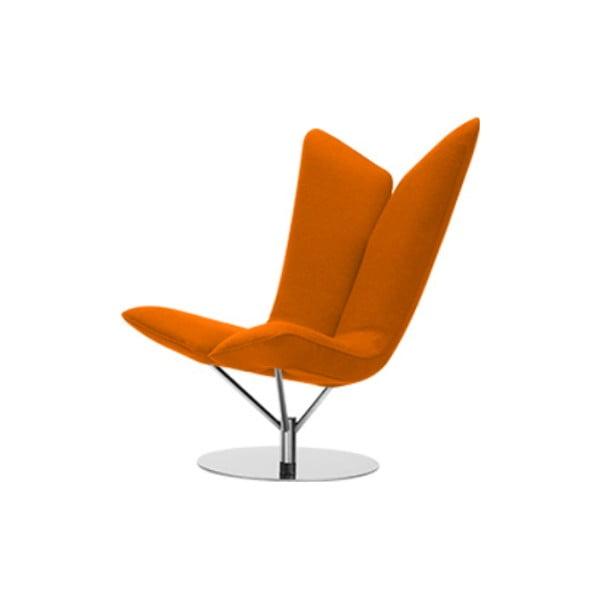 Pomarańczowy fotel Softline Angel Valencia Orange
