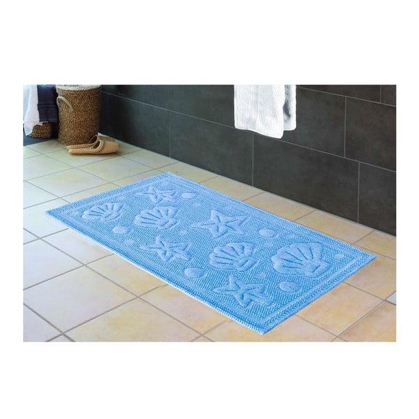 Předložka do koupelny Istra Blue, 60x100 cm