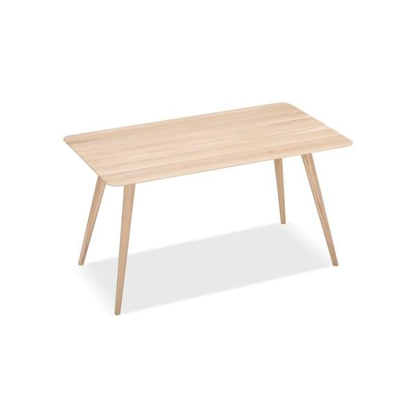 Masă din lemn masiv de stejar Gazzda Stafa