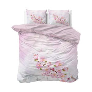 Růžové povlečení Sleeptime Sweet Flowers, 240 x 220 cm