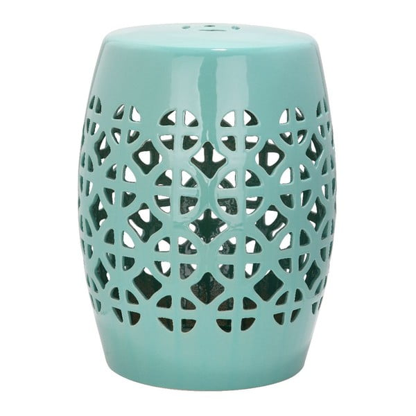 Tyrkysový keramický stolek Safavieh Ravello