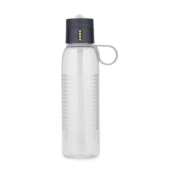 Sticlă sport Joseph Joseph Dot Active, 750 ml, gri