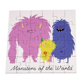 Puzzle 24 piese Rex London Monsters Of The World de la Rex London