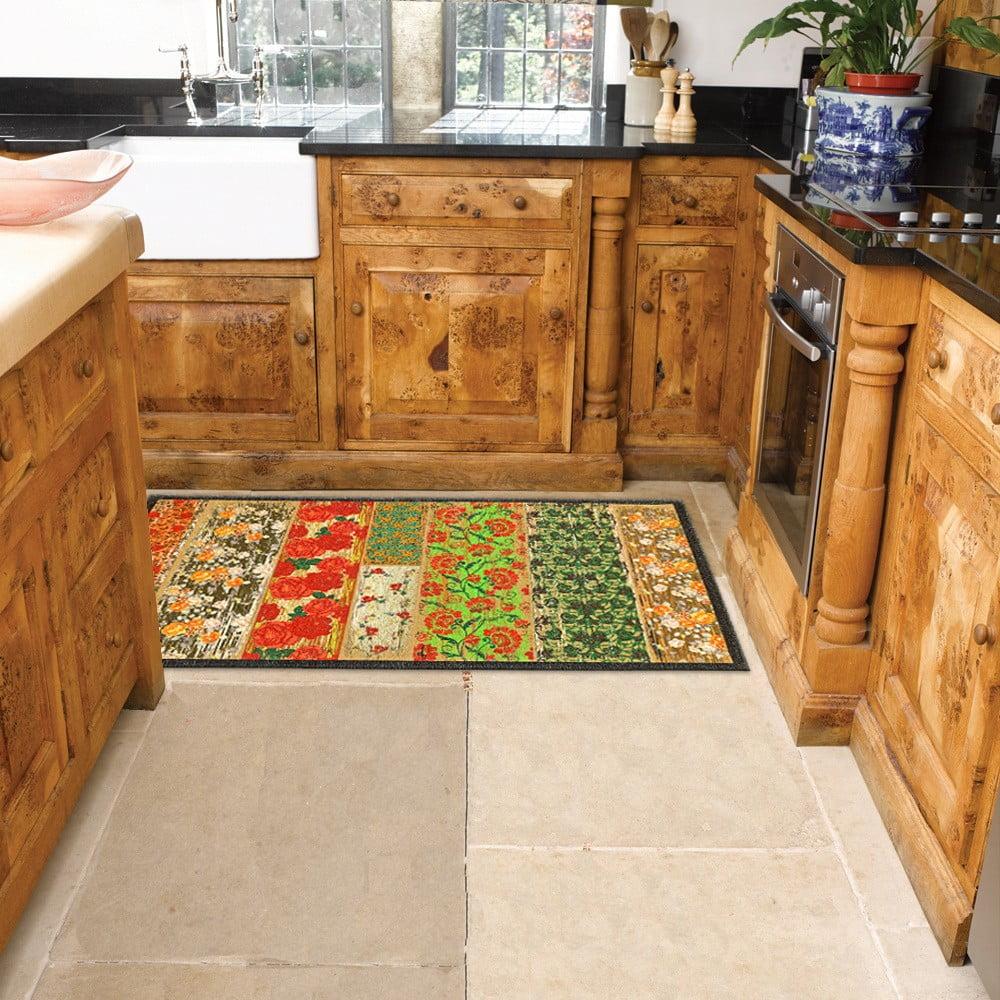 Vysoce odolný kuchyňský koberec Webtappeti Potpourri, 60 x 190 cm