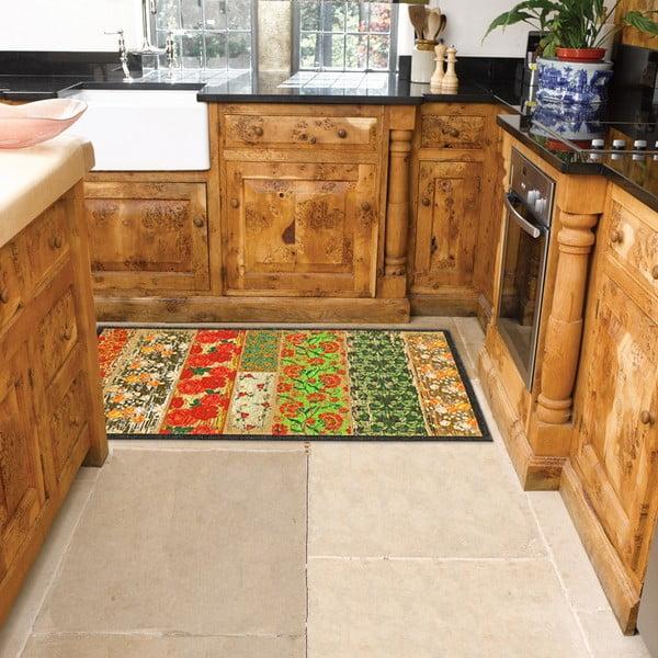 Vysoce odolný kuchyňský koberec Webtappeti Potpourri,60x240cm