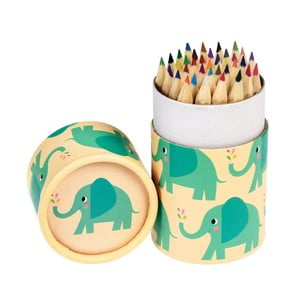 Set de 36 de creioane în tub decorativ Rex London Elvis