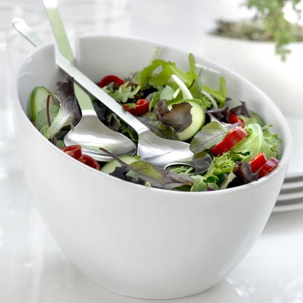 Bol cu tacâmuri pentru salată Steel Function Parma